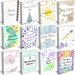 This bundle has 12 different sets of planner templates that can be mixed and matched to create unique planners. Personal Planning, Time Management, Productivity Tools and Resources for Business. This product is an amazing way to get your hands on some highly profitable planners. Some of the best plr planner templates to help you grow your own businesses.